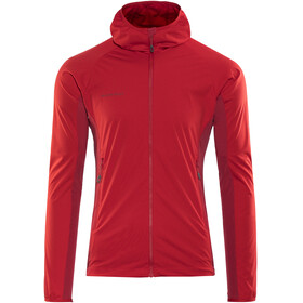 Mammut Kento Light SO Hooded Jacket Men magma-dark magma